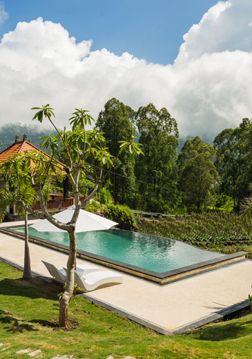 Mount Batur Kintamani Villa Swimming Pool